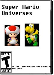 Super Mario Universes Box Art