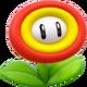 Fire Flower Artwork - Super Mario 3D World