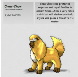 Chow-ChowPKMN