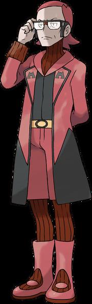 Pokemon ORAS Team Magma Boss Maxie