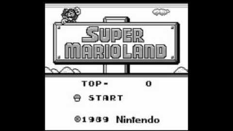 Super Mario Land Overworld Theme