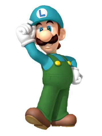 File:3D Ice Luigi.png