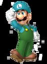 3D Ice Luigi
