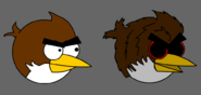 Myself as and Angry Bird
