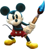 Mickey Mouse - Epic Mickey render