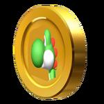 3D Yoshi Coin