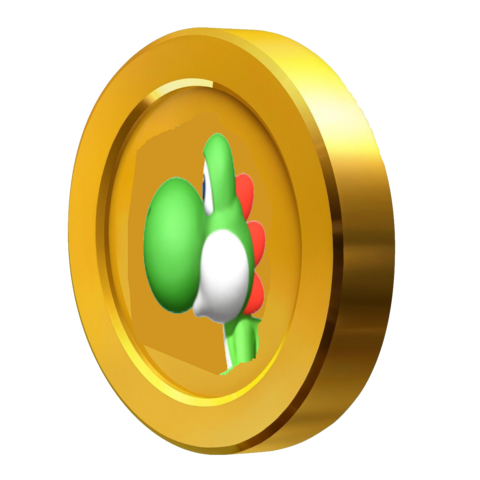 File:3D Yoshi Coin.png