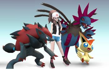 SSBL Pokemon trainer 2