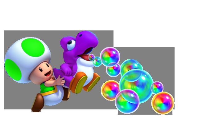 Image Green Toad And Yoshi Png Fantendo Nintendo