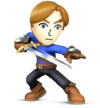 Mii sword guy