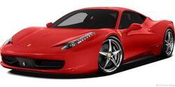 Ferrari 458 italia coupe 2012