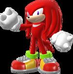 Knuckles trophy pose (Super Smash Bros. Wii U)