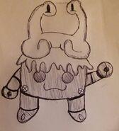 Nizzle & Zorp Pen Sketch by WereWaffle