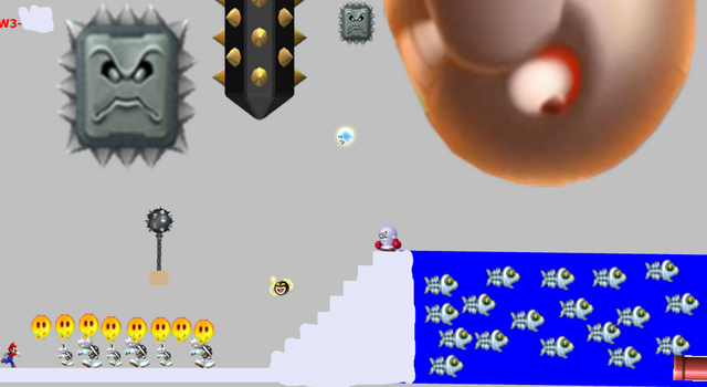 File:New Super Mario Bros Bowsers Revenge W3-castle.png