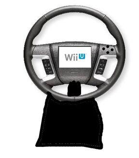 WII U Steering Wheel