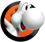 File:MHWii WhiteYoshi icon.png