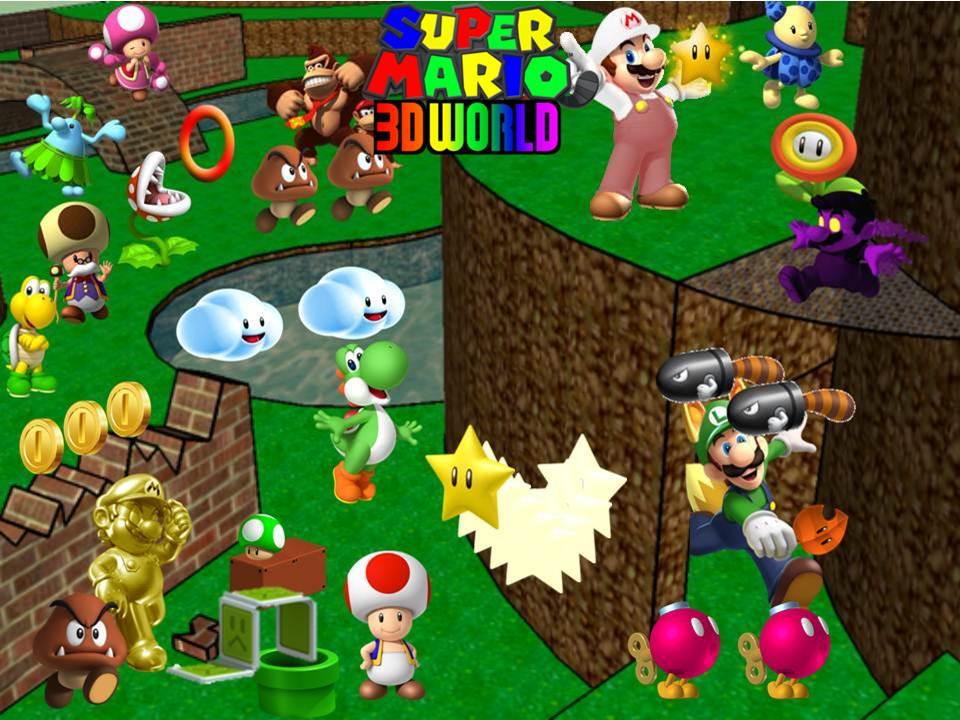Image - Super Mario 3D World Wallpaper.jpg