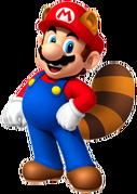 SM3DL2BUR Raccoon Mario
