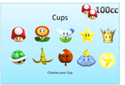 Slect your cup
