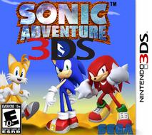 Sonic Adventure 3DS Boxart
