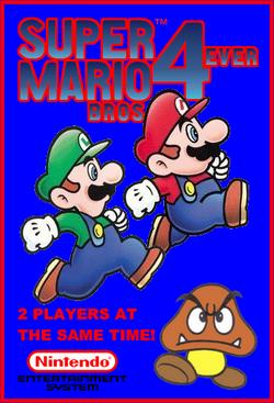 Super Mario Bros. 4ever Boxart