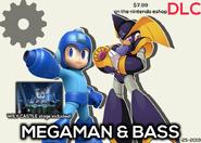 Megaman and BassSSBVDLCPromo