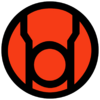 Red lantern corps symbol fill by mr droy-d613gsv