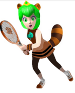 Princess Racourtney tennis