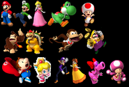 MKCC Playable Characters