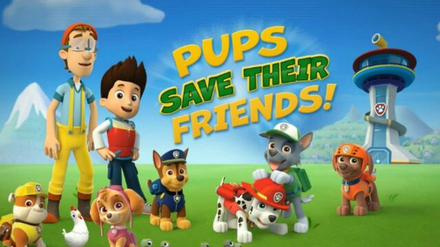 File:PAW Patrol Ryder Marshall Rubble Chase Rocky Zuma Skye Cap'n Turbot Captain Fan Theory.jpg