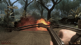 FC 2 crossbow explosion and reloading