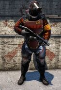Guard Heavy Flamer Commander