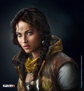 Farcry4 character amita 02 by aadi salman