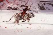 Far Cry 4 Concept Art Kay Huang white-tiger-with-rider-680x452