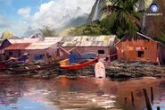 Farcry3 early-concept town2