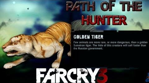 Far Cry 3 - Path of The Hunter Gameplay - Golden Tiger