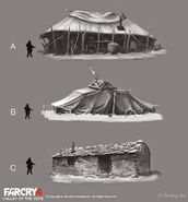 Far Cry 4 DLC Valley of the Yetis concept art by XuZhang (8)