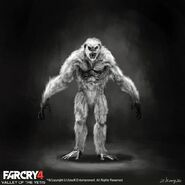 Far Cry 4 DLC Valley of the Yetis concept art by XuZhang (66)