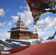 Far Cry 4 DLC Valley of the Yetis concept art by XuZhang (49)