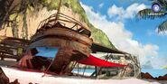 Farcry3 early-concept ship-wreck4
