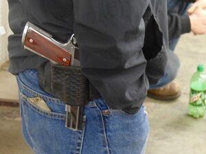27 gun closeup