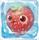Strawberry under ice