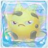 Sun grumpy under ice