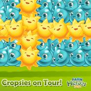 Cropsies on Tour Sweden