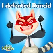 Rancid I defeated Rancid