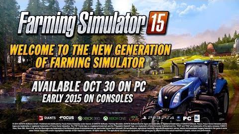 Farming Simulator 15 - A day on the Farm