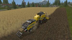 FS17 Harvester-Baling