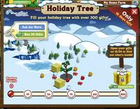Holiday Tree Inside Notification