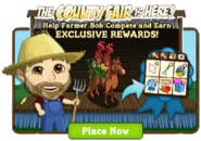 Country Fair Pop Up Notification