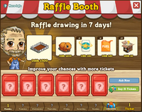 Raffle Booth Draw March 19 2012